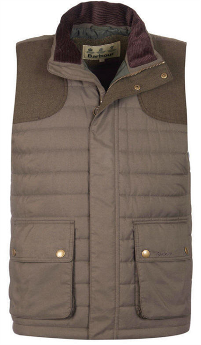 01c83e4e035 Barbour Bradford Baffle Quilted Gilet- Forest Green
